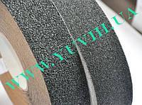 Антискользящая лента. Абразивная экстра-грубая зернистость 25 мм. Черный цвет.