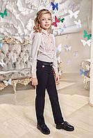 Брюки школьные для девочки Бриджит (116,134р) (Suzie)Сьюзи Украина чёрные БР-30701