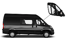 Боковое стекло Peugeot Boxer 2007-2019 опускное правое