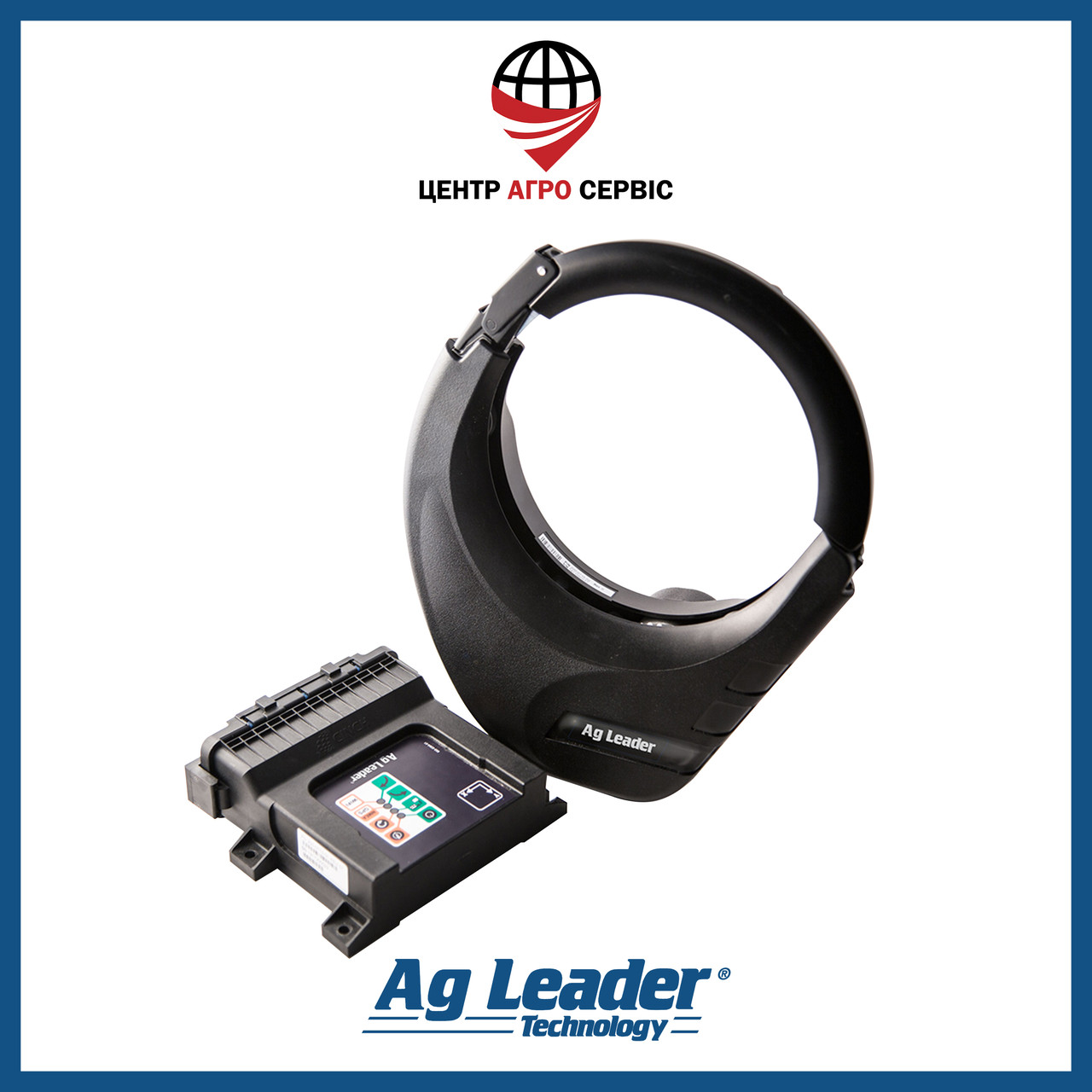 Автопилот OnTrac3 Ag Leader (электроруль, система электрического автоматического управления)