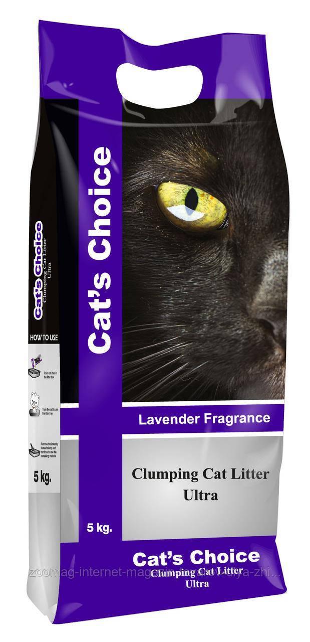 """Бентонітовий наповнювач з ароматом лаванди """"Indian Cat Litter cat's Choice Lavender"""" 10кг"""