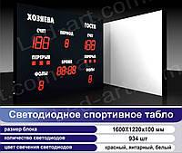 Светодиодное спортивное табло универсальное футбол, баскетбол, волейбол LED-ART-Sport-1600х1220-934