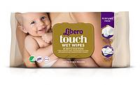 Влажные салфетки Libero Touch Wet Wipes, 56 шт.