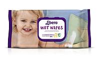 Влажные салфетки Libero Easy Change, 64 шт.