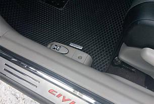 Автоковрики для Honda Civic IX седан (2012-2015) eva коврики от ТМ EvaKovrik