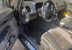 Автоковрики для Honda Civic VIII 4D (2010) eva коврики от ТМ EvaKovrik