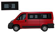 Боковое стекло короткая база Peugeot Boxer 2007-2019 с форточкой переднее левое