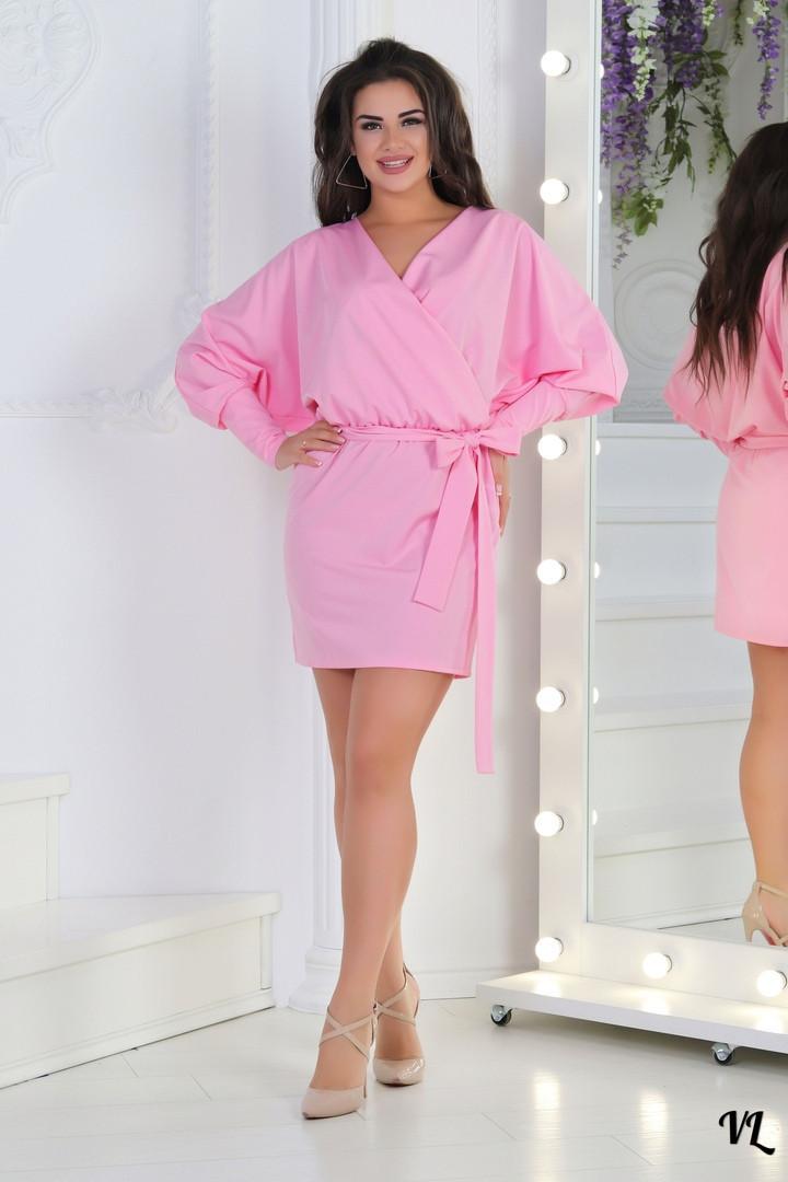 Легкое женское платье на запах, фото 1