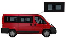 Боковое стекло короткая база Peugeot Boxer 2007-2019 с форточкой переднее правое