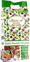 """Бентонітовий наповнювач з ароматом екзотичних квітів """"Indian Cat Litter cat's Choice Exotic Flowers"""" 5кг"""