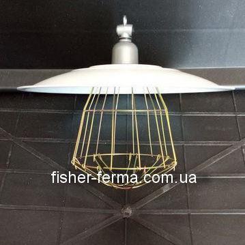 Абажур для инфрокрасной лампы  + эмаль + патрон