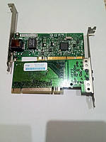 Сетевая карта LAN PCI 100/1000Mb Intel Б/У