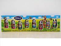 Конфеты шоколадные ONLY (зайцы)