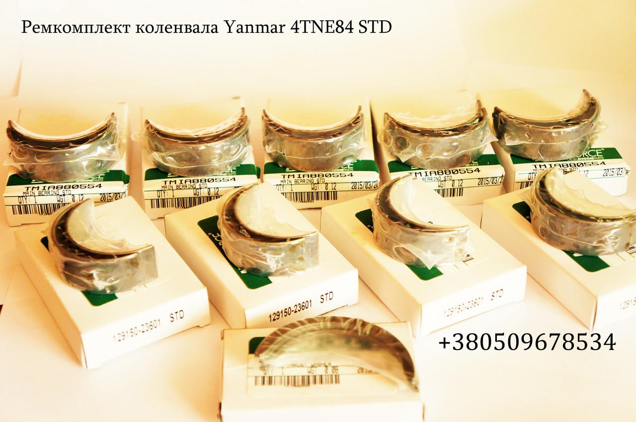 Ремкомплект колінчастого Yanmar 4TNE84 STD