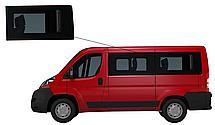 Боковое стекло короткая база Peugeot Boxer 2007-2019 заднее левое