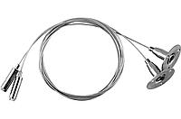 LD1002 тросовый подвес для шинопровода, 150 см (2 шт./уп.), фото 1