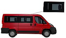 Боковое стекло короткая база Peugeot Boxer 2007-2019 заднее правое