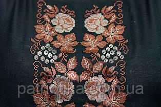Жіноча вишиванка чорна | Жіноча вишиванка чорна, фото 2
