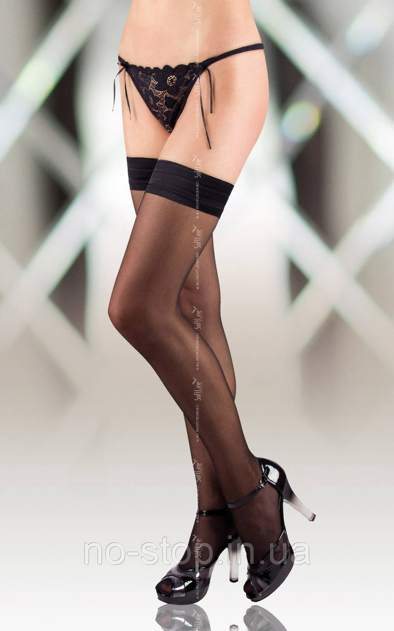 Чулки - Stockings 5513, black