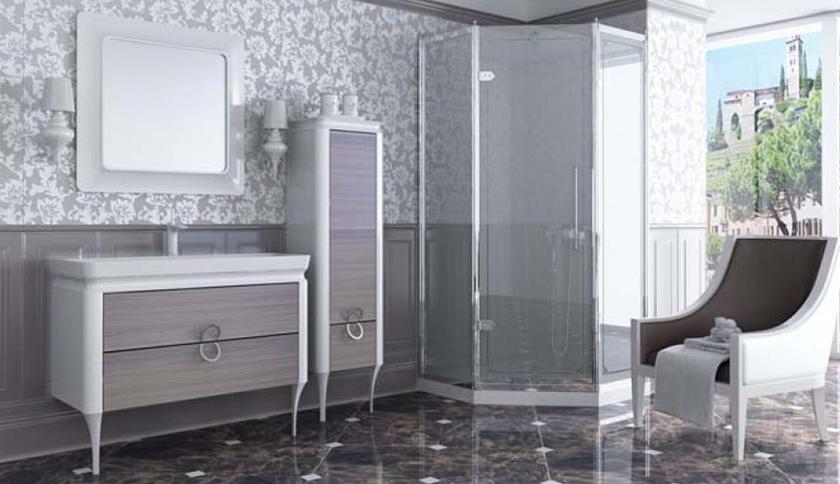 Банер мебели для ванных комнат Ювента (артикул товара: TcP-190-Dab-pastelowy)
