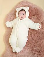 Утепленный комбинезон для новорожденных, фото 1