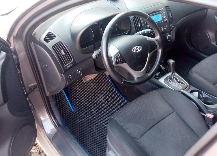 Автоковрики для Hyundai i30 II GD (2011-1015) eva коврики от ТМ EvaKovrik