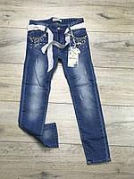 Стрейчевые джинсы для девочек. 4- 8 лет