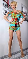 Спортивный костюм с абстрактным принтом, фото 1