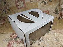 Коробки для тортів з ручкою і двома Вікнами