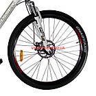 Горный велосипед Crosser Faith 26 дюймов белый, фото 4