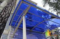 Монолитный поликарбонат Borrex 2мм синий