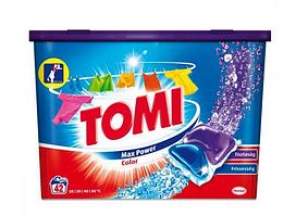 Tomi Max Power Color капсулы для цветного белья 42 шт