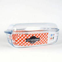 Гусятница стеклянная 6,5л PYREX Cuisine 466АС00 (4,3л + 2,2л)