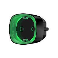 Радиоуправляемая умная розетка со счетчиком энергопотребления Ajax Socket черная\белая, фото 1