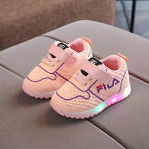 Детские кроссовки с сеткой, фото 2