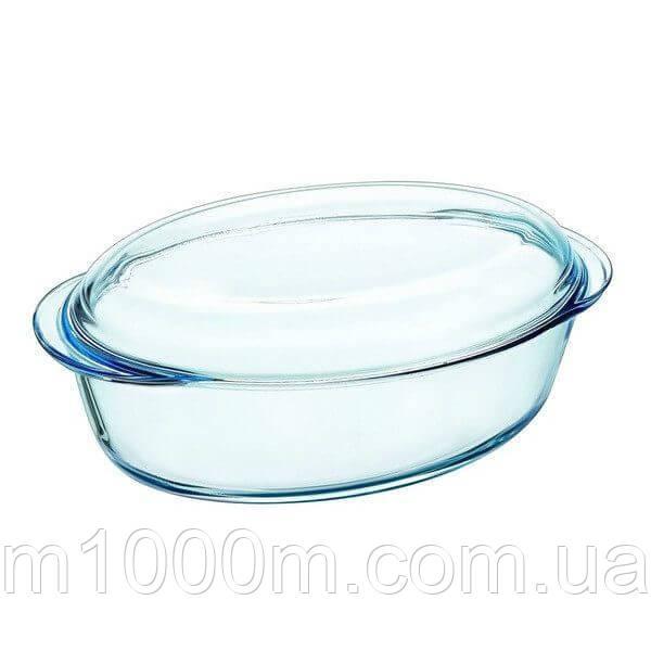 Гусятница стеклянная овальная Pyrex Essentials 3л
