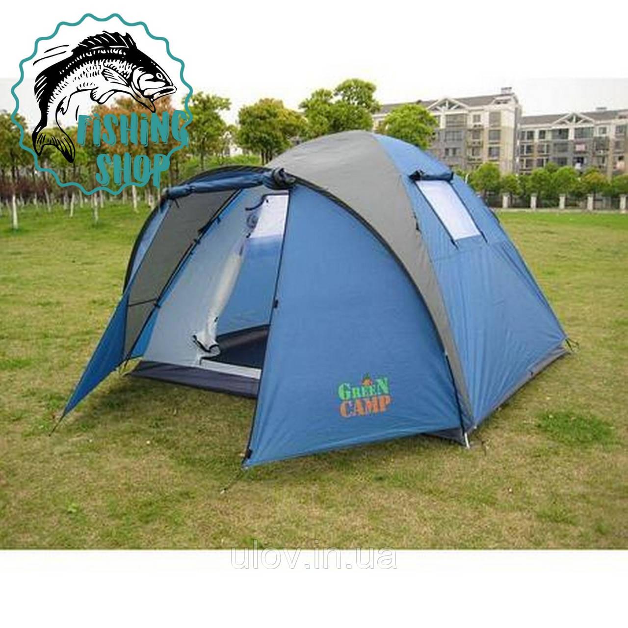 Палатка 4-х местная Green Camp 1004