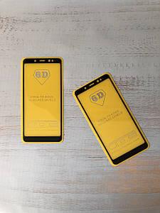 Защитное стекло 6D для  Xiaomi Redmi Note 5   (Black)