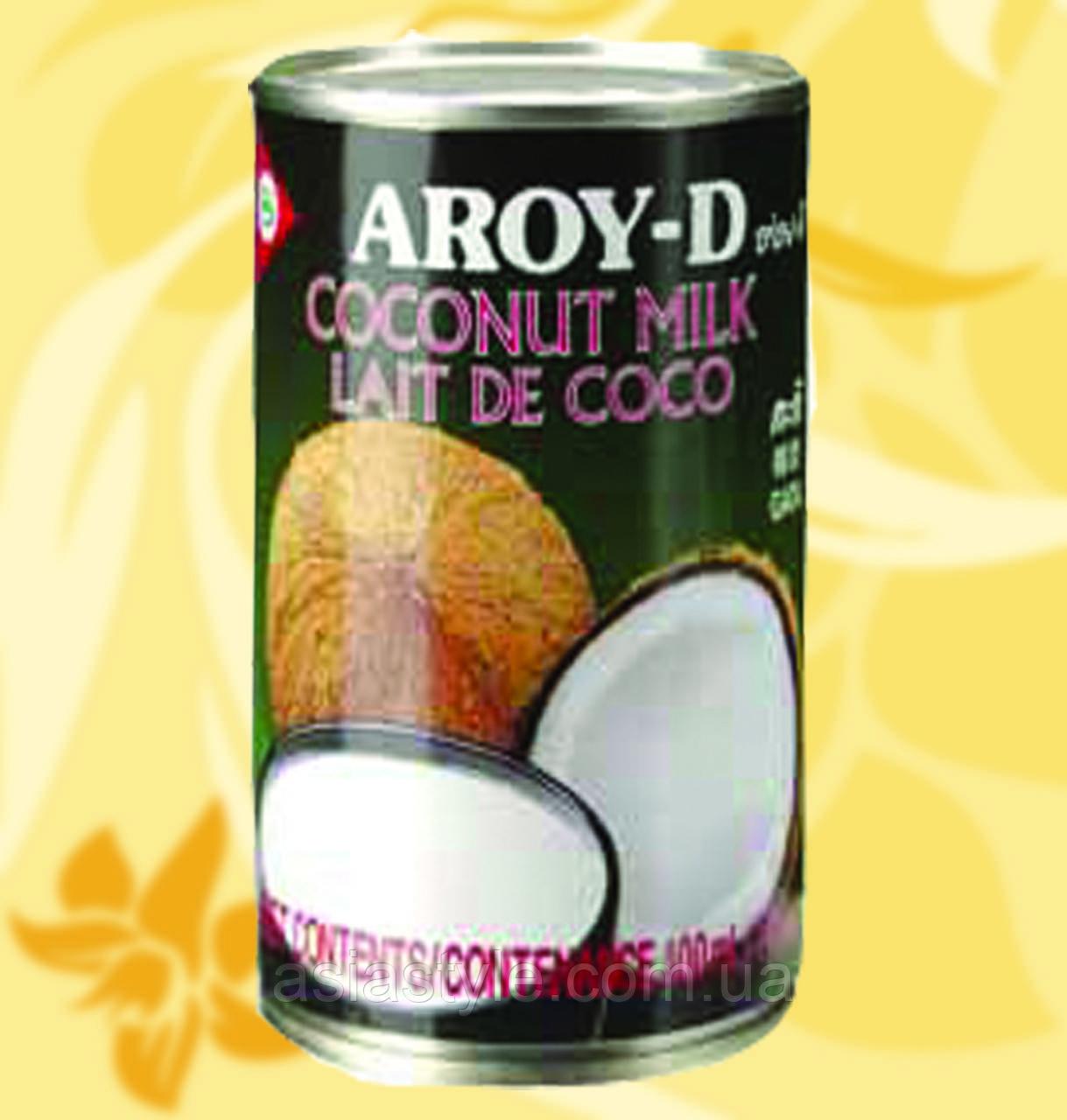 Кокосове молоко, Aroy-D, 400мл,18,5%, СхЧСп