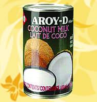 Кокосовое молоко, Aroy-D, 400мл,18,5%, СхЧСп