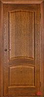 Межкомнатная дверь Капри дуб тонированный ПГ