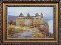 Картина Старый замок (35х45, 2009, Устименко)