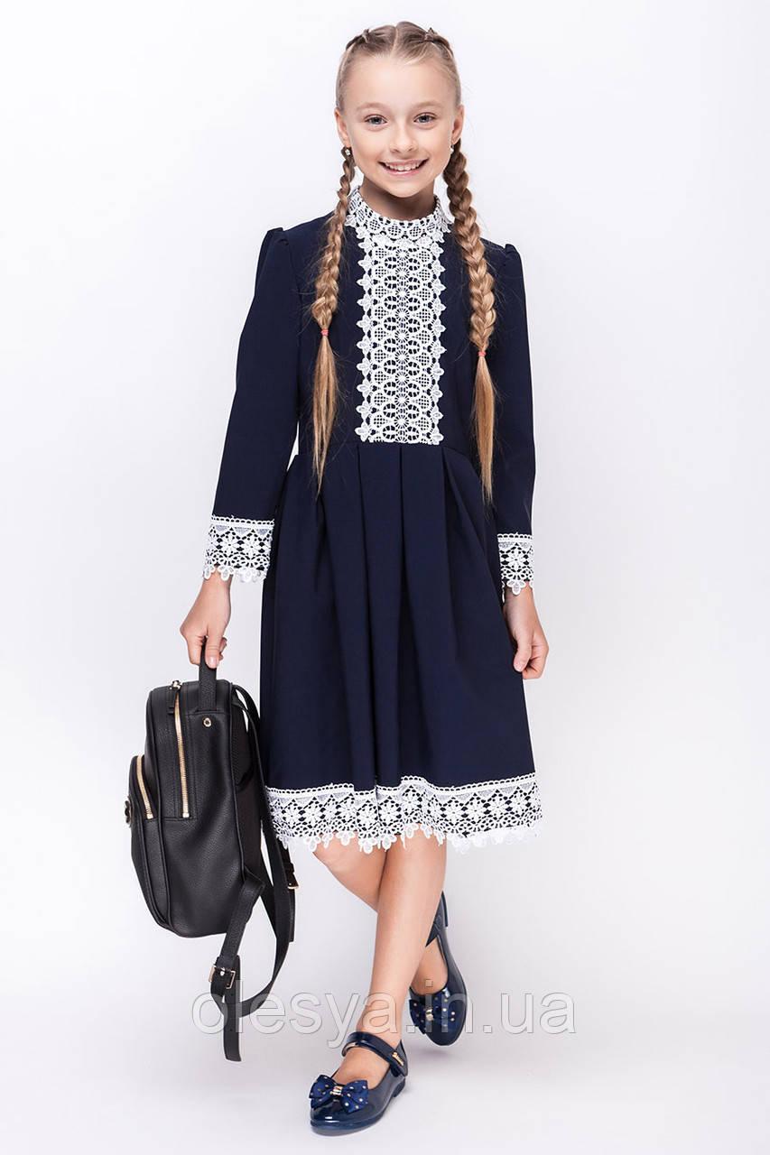 Платье на девочку для школы SH-55 Размер 158