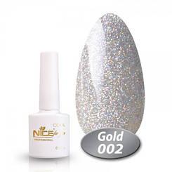 Гель лак nice for you cool gold № 2