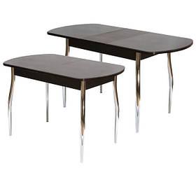 Столы обеденные раздвижные (трансформеры) стекло