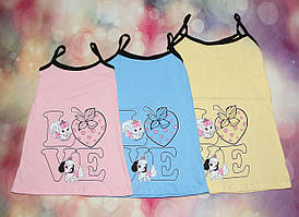 Ночная рубашка для девочки 1761 кулир-стрейч