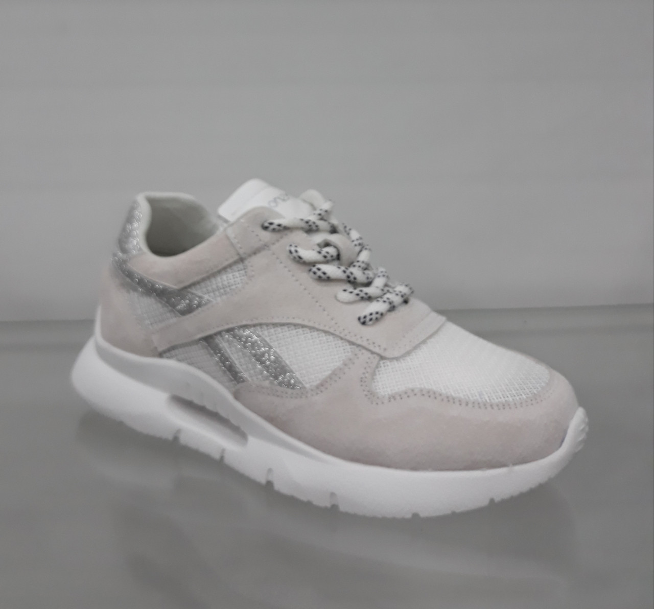 9b577205c ... Женские серые замшевые весенние кроссовки на оригинальной подошве, ...