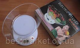 Весы кухонные электронные с чашей до 5 кг MATARIX MX-401