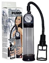 Вакуумная помпа - Penispump Deluxe mit Druckmess