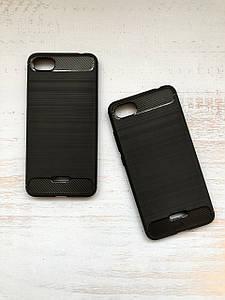 Чехол - накладка Carbon (карбон)  для Xiaomi Redmi 6a